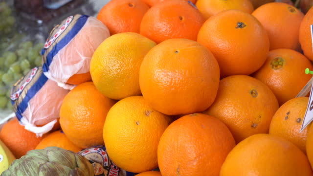 tangerines - market stall stock videos & royalty-free footage