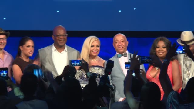 Tangie Murray Daniel Simmons Gayle King Alex Waislitz Soledad O'Brien Frank Cooper III Suzanne De Passe Russell Simmons Star Jones Debra L Lee at...