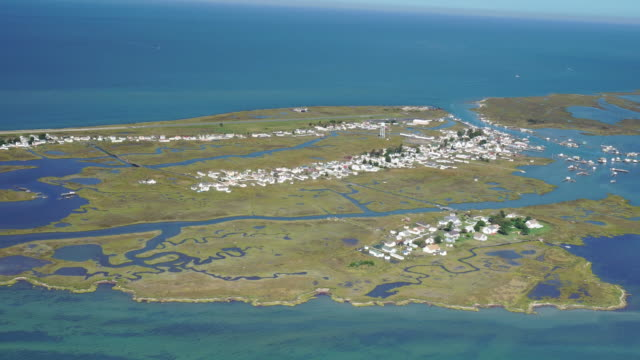 tangier island va - coastline stock videos & royalty-free footage