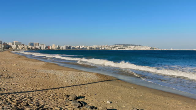 tangier's beach - moroccan culture stock videos & royalty-free footage