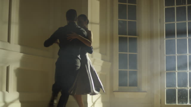 tango dancers - tangoing stock videos & royalty-free footage