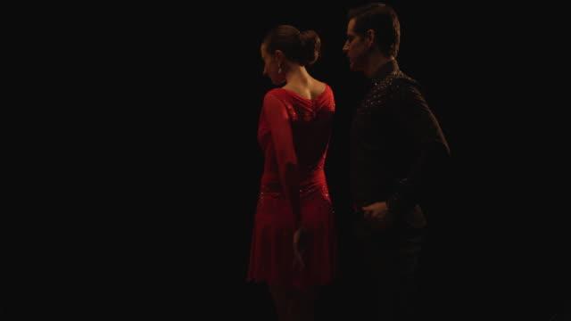 tango dancers - tango dance stock videos & royalty-free footage