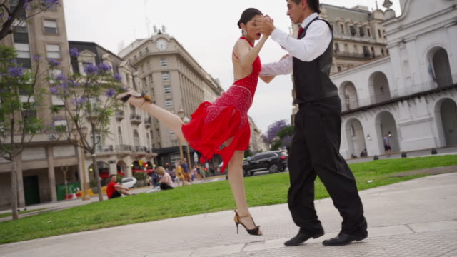 tango is a piece of art - tangoing stock videos & royalty-free footage