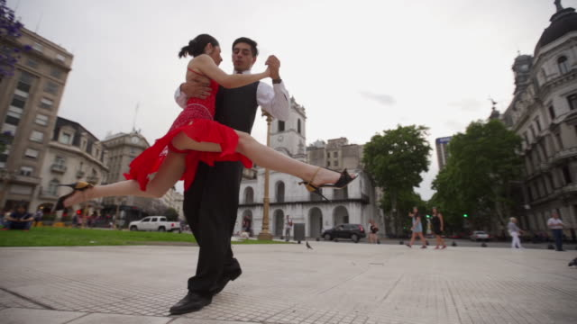 tango is trademark of argentina - tango dance stock videos & royalty-free footage
