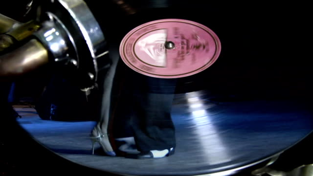 tango on the gramophone record - tango dance stock videos & royalty-free footage