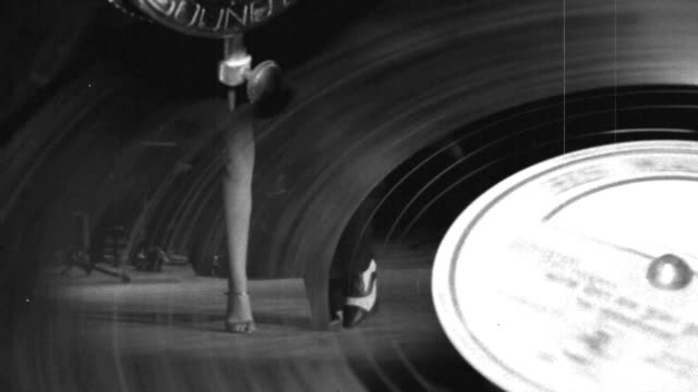 tango on the old record - tango dance stock videos and b-roll footage