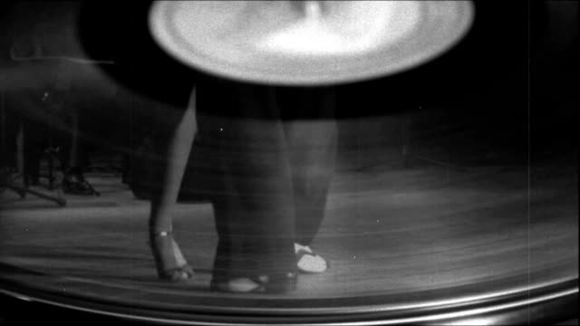 tango on the old record - tangoing stock videos & royalty-free footage