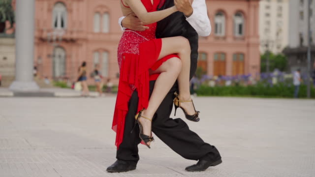 tango, passionate dance - tangoing stock videos & royalty-free footage