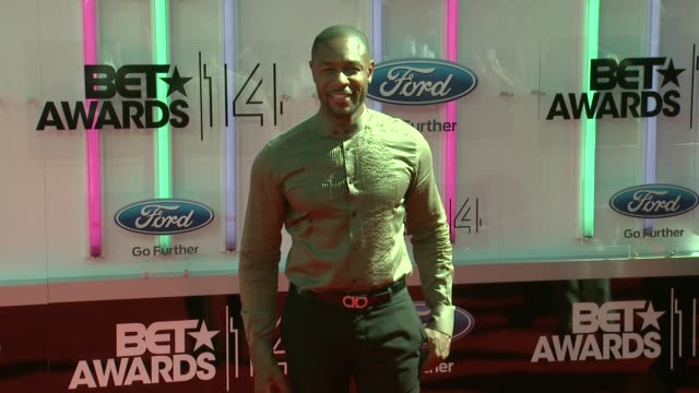 tank at the 2014 bet awards on june 29 2014 in los angeles california - bet awards stock videos and b-roll footage