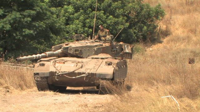 Tank, Israel Lebanon war, July 30 2006