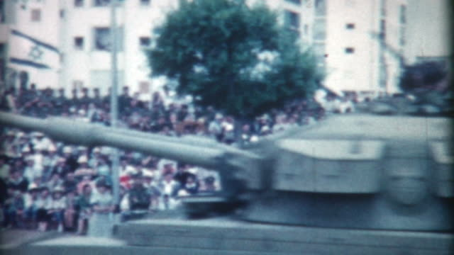 tank parade 1962 - israeli military stock videos & royalty-free footage
