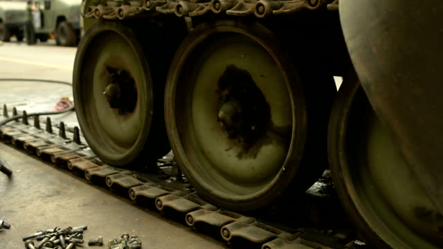 tank tracks and wheels during military - armoured vehicle stock videos & royalty-free footage