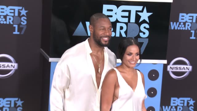 Tank Zena Foster at 2017 BET Awards in Los Angeles CA
