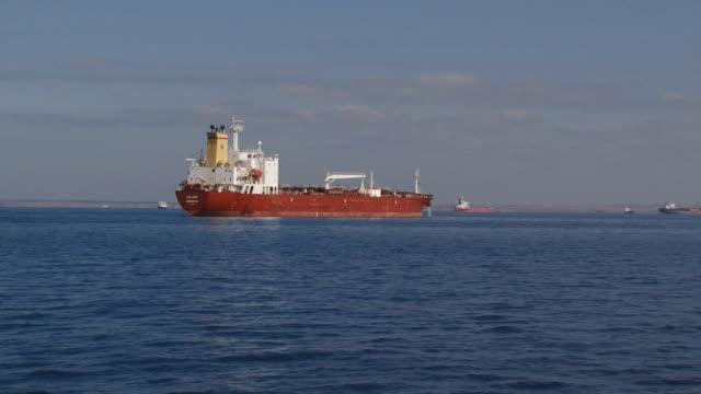 タンカー海で - 石油産業点の映像素材/bロール