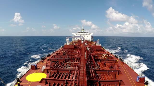 tanker in ocean - pipeline stock videos & royalty-free footage
