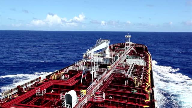 Tanker sailing