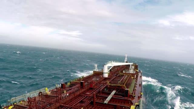 vídeos y material grabado en eventos de stock de buque cisterna - buque de carga