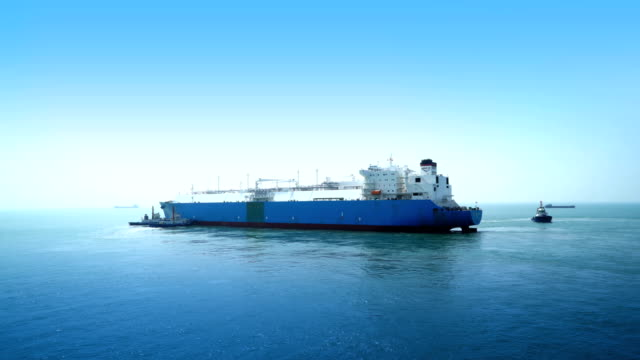 lng tanker time lapse - ship stock videos & royalty-free footage