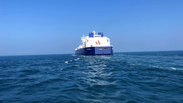 lng tankers in the sea - power supply stock videos & royalty-free footage
