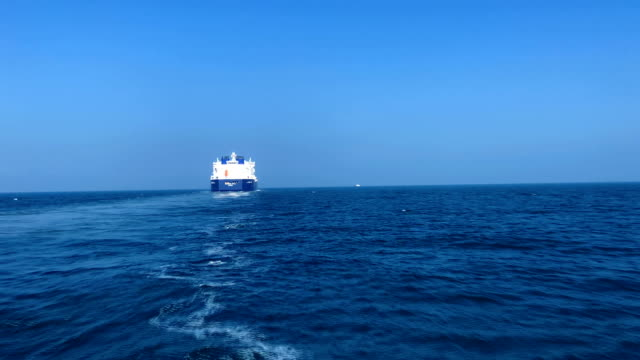 lng tankers in the sea - tanker stock videos & royalty-free footage