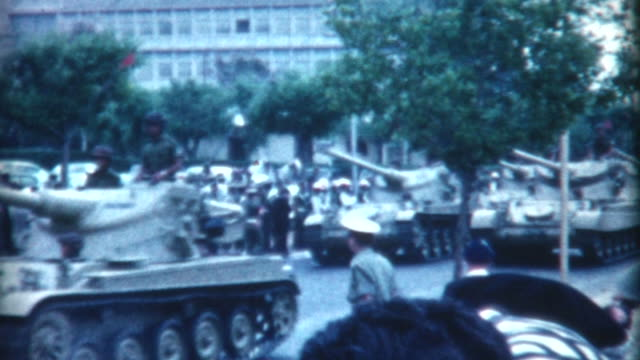 tanks on display 1962 - israeli military stock videos & royalty-free footage