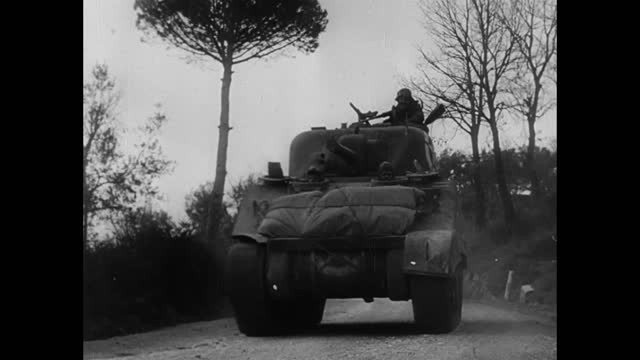 tanks toming toward in offensive operation - 1943 stock videos & royalty-free footage