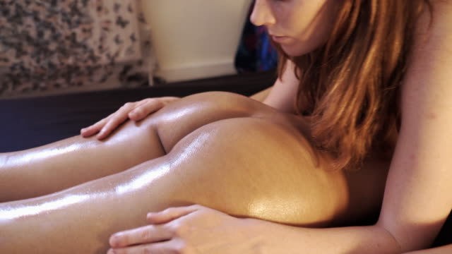 tantric massage. - nur frauen stock-videos und b-roll-filmmaterial