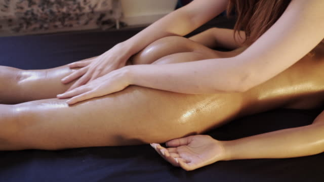 tantric massage. - naked stock videos and b-roll footage