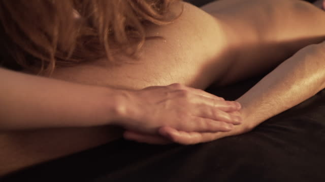 tantric massage. - human leg stock videos and b-roll footage