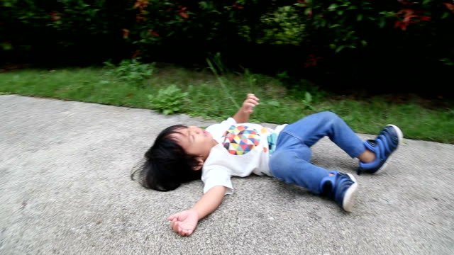 tantrum crying baby boy. - toddler stock videos & royalty-free footage