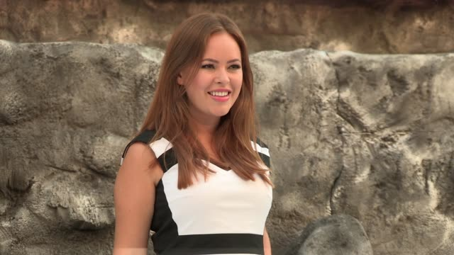 tanya burr at the lone ranger uk premiere at odeon leicester square on july 21 2013 in london england - the lone ranger 2013 film stock videos and b-roll footage