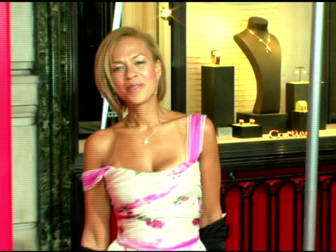 Tanya Lee at the Cartier and Interview Magazine Celebration of Love at the Cartier Mansion in New York New York on June 8 2006