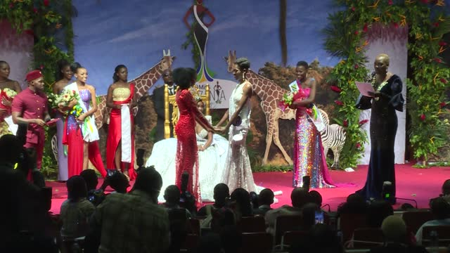 tanzania has hosted its annual edition of the miss tanzania competition with contestants competing for the national crown and an opportunity to... - miss world pageant stock videos & royalty-free footage
