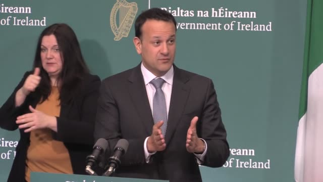 taoiseach leo varadkar says that it is understandable people are becoming frustrated in lockdown, but appeals to people to take into account the next... - smooth stock videos & royalty-free footage