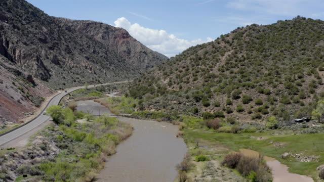 taos, new mexico - ravine stock videos & royalty-free footage