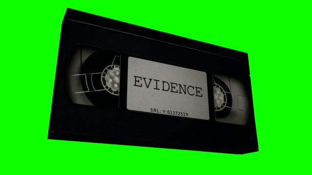 VHS Tape Evidence Animation