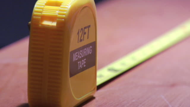 tape measure - measuring stock videos & royalty-free footage