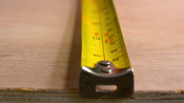 tape measure - tape measure stock videos and b-roll footage