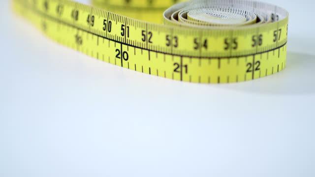 tape measure - tape measure stock videos & royalty-free footage