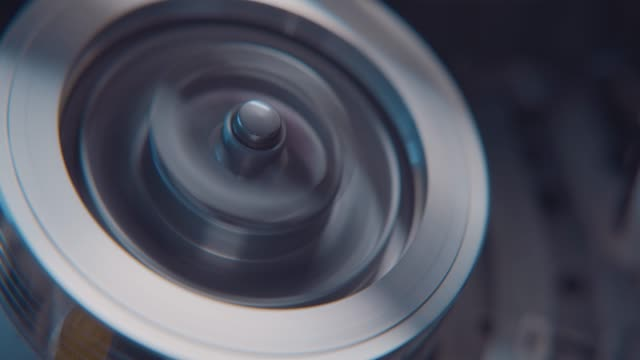 a vhs tape spooling around a tape head inside a vcr video player on july 21 2020 - retro style stock videos & royalty-free footage