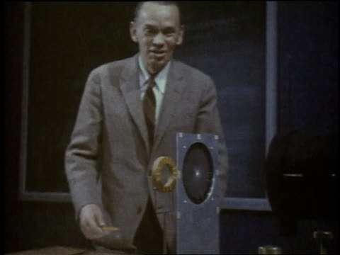 vidéos et rushes de 1957 montage taping of television show inside studio / new york city, new york, united states - 1957
