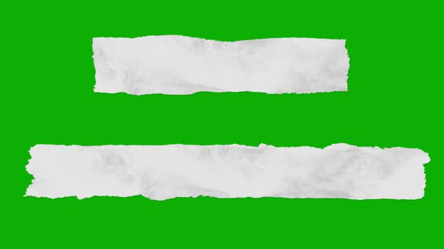 taping torn paper on green screen - page stock videos & royalty-free footage