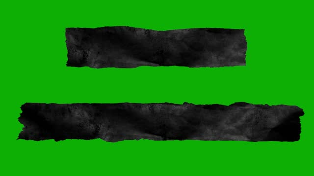 taping torn paper on green screen - textured effect stock videos & royalty-free footage