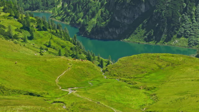 tappenkarsee, austria, time lapse - austria video stock e b–roll