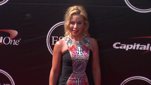 Tara Lipinski at The 2015 ESPYS at Microsoft Theater on July 15 2015 in Los Angeles California