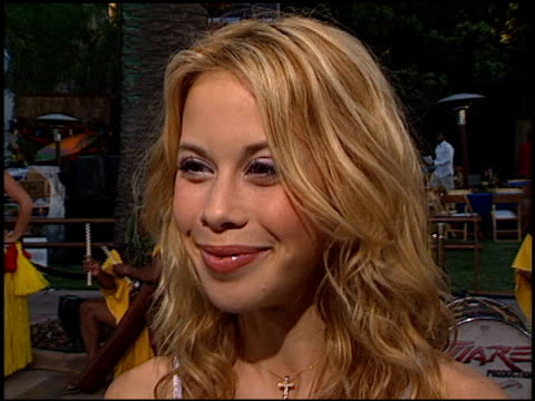 Tara Lipinski at the 'Blue Crush' Premiere at Universal Amphitheatre in Universal City California on August 8 2002
