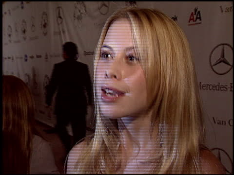Tara Lipinski at the Carousel of Hope Gala at the Beverly Hilton in Beverly Hills California on October 23 2004