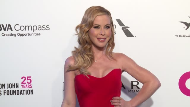 Tara Lipinski at the Elton John AIDS Foundation Presents the 26th Annual Academy Awards Viewing Party on March 04 2018 in West Hollywood California