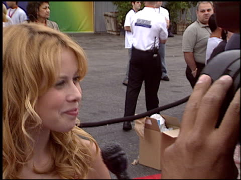 Tara Lipinski at the HBO All Star Sports Jam at Barker Hanger in Santa Monica California on June 19 2004