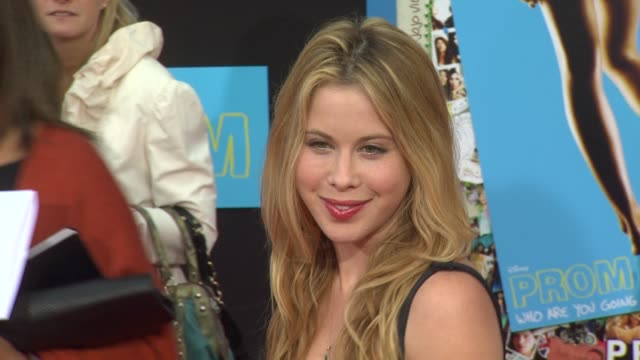 Tara Lipinski at the 'Prom' Premiere at Hollywood CA